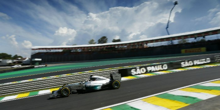wedden f1 brazilie