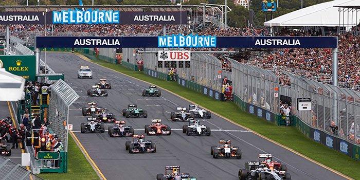 wedden f1 australie