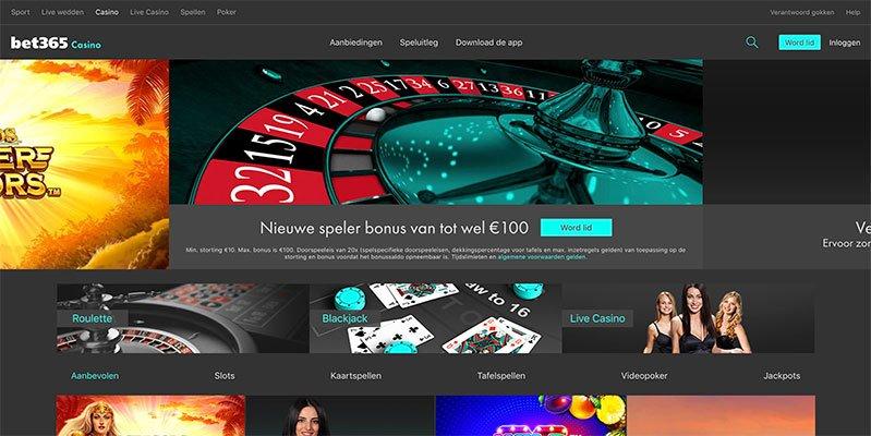 het online casino van bet365