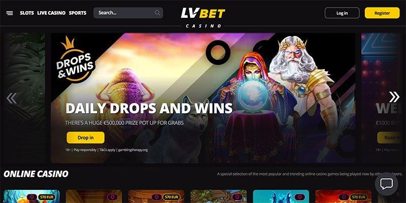 lv bet homepage