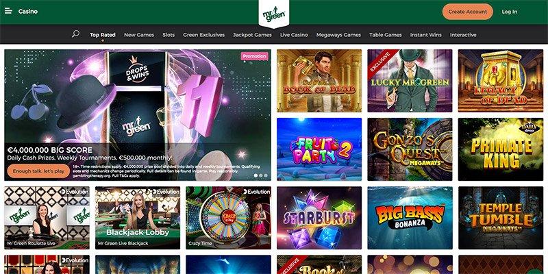 online casino mrgreen
