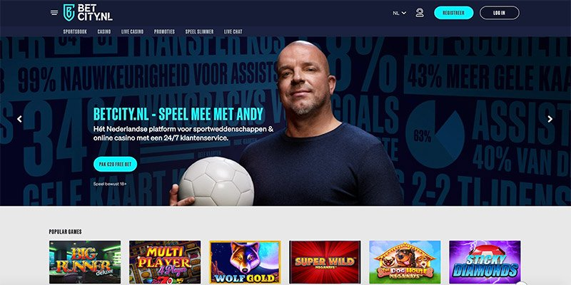 Betcity Homepage