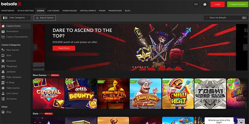online casino van betsafe